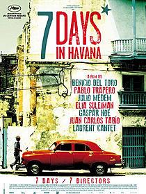 解禁されたカンヌ映画祭用のポスター「セブン・デイズ・イン・ハバナ」