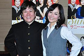 「タッチ」で共演した声優の三ツ矢雄二と日高のり子が再会!「タッチ」