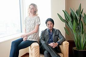 インタビューに応じた真田広之とエミリー・バンキャンプ「リベンジ」