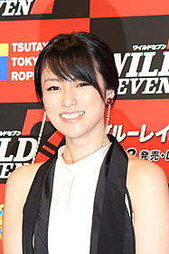 「ワイルド7」DVD発売記念イベントに 出席した深田恭子「ワイルド7」