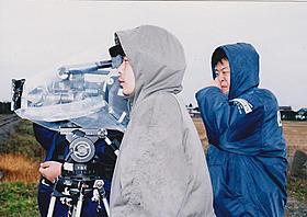 「風」を演出中の園子温監督「BAD FILM」