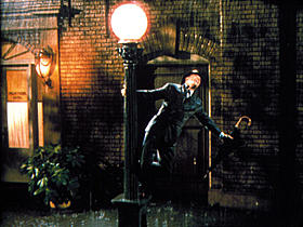 「雨に唄えば」の一場面「雨に唄えば」