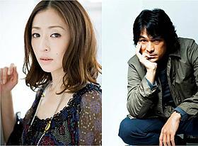 「脳男」に出演する松雪泰子と江口洋介「脳男」