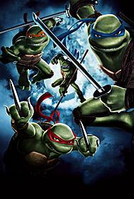 原作は亀の忍者グループの活躍を描く人気コミック「ミュータント・タートルズ」