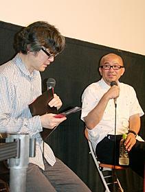 ガレルについて語った樋口泰人氏と青山真治監督「愛の残像」