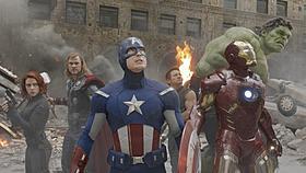 全米で爆発的ヒットを記録している「アベンジャーズ」「アイアンマン」