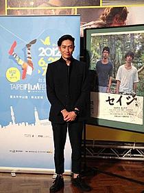 台北映画祭に出席した伊勢谷友介「カクト」