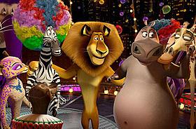 前売り券が好調に推移している「マダガスカル3」「マダガスカル3」