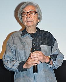 舞台挨拶に立った山田洋次監督「いわさきちひろ 27歳の旅立ち」