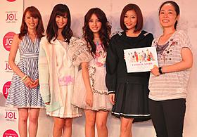 イベントに出席した七菜香、大島なぎさ、阿部菜渚美ら「FASHION STORY Model」