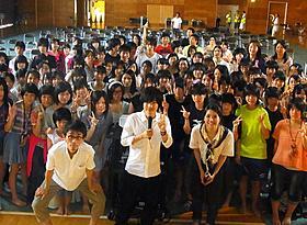 釜石で舞台挨拶に立った神木隆之介「桐島、部活やめるってよ」