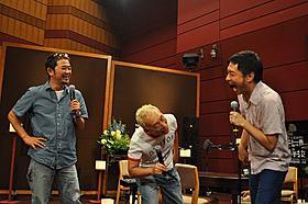 和気あいあいとした雰囲気で収録を行った (左から)奥田民生、所ジョージ、トータス松本