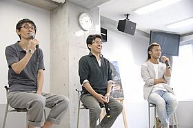 映画業界を目指す高校生たちに思いを語る3人「桐島、部活やめるってよ」