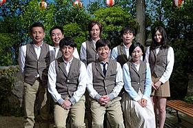 コント番組「LIFE!~人生に捧げるコント~」に出演する 内村光良とキャスト陣