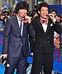 伊藤英明ら「海猿」チームにファンから金メダル! 新宿の大通りで3000人が歓声