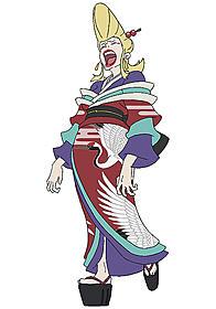 水樹奈々が声優を務める吉原の太夫・凍鶴「伏 鉄砲娘の捕物帳」