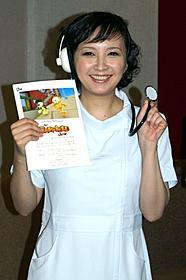 ナースコスプレに挑戦した高橋由美子