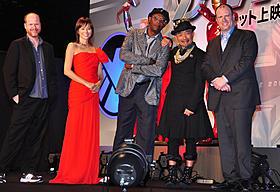 全米で大ヒットの「アベンジャーズ」サミュエル・L・ジャクソンが来日「アベンジャーズ」