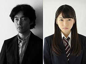 新機軸を展開する佐藤信介監督と松岡茉優「図書館戦争」