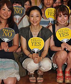 学生150人との座談会を行った西川美和監督「夢売るふたり」