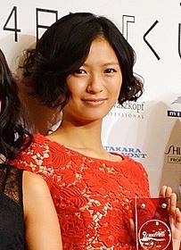 """「The Best of Beauty 2012」20代部門 """"ビビッド""""代表に選ばれた榮倉奈々「のぼうの城」"""