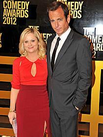 離婚を発表したウィル・アーネット(右)と エイミー・ポーラー「俺たちフィギュアスケーター」
