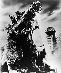 1954年の第1作「ゴジラ」「ゴジラ」