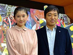 声優に挑戦した篠原涼子と香川照之「ONE PIECE FILM Z」