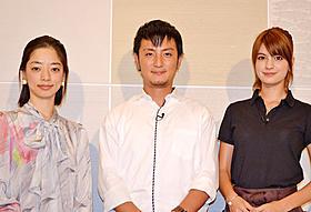 新トークドラマ番組に出演する3人