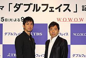 初の本格共演を果たした西島秀俊と香川照之「インファナル・アフェア」