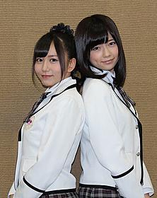 AKB48島崎遥香(右)と大場美奈「劇場版 私立バカレア高校」