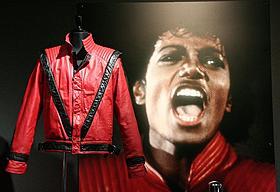マイケル・ジャクソンさんの代表曲「スリラー」のジャケット「スリラー」