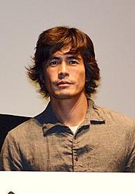 試写会イベントに出席した伊藤英明「悪の教典」