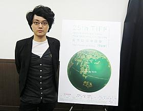 東京国際映画祭に際し来日したダビ・チュウ監督「ゴールデン・スランバーズ」