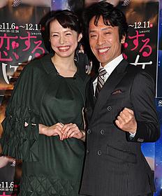 NHKの新ドラマで共演するミムラと筧利夫「ハゲタカ」