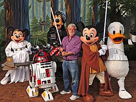 ルーカスフィルムがディズニー傘下に「スター・ウォーズ」