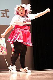 1000人のファンを前にダンスを披露した渡辺直美
