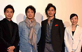 舞台挨拶に立った加藤和樹ら「CMタイム」