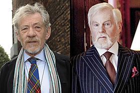 イアン・マッケラン&デレク・ジャコビ、英シットコムでゲイカップルに : 映画ニュース
