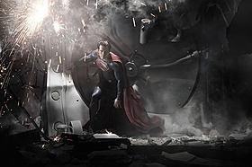 「マン・オブ・スティール」の場面写真「スーパーマン」