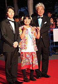第4回沖縄国際映画祭オープニング時の大崎洋社長(右)