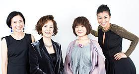 爆笑の絶えない(左から)西田尚美、 浅茅陽子、犬山イヌコ、中鉢明子「綱引いちゃった!」