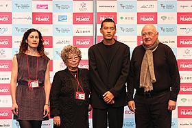 SABU審査委員長をはじめとする審査員が 顔をそろえた東京フィルメックスのオープニング「514号室」