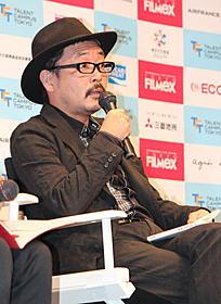 ティーチインに参加した園子温監督「BAD FILM」