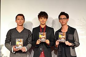 3人とも長澤まさみとの共演を熱望「もののけ姫」