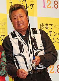 尖閣諸島での釣り体験を語った梅宮辰夫「砂漠でサーモン・フィッシング」