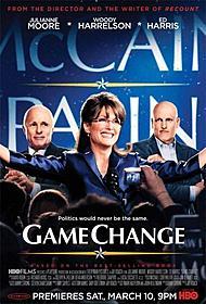5部門ノミネートの「ゲーム・チェンジ」ポスター「ゲーム・チェンジ 大統領選を駆け抜けた女」