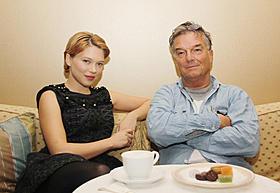 レア・セドゥーとブノワ・ジャコー監督「マリー・アントワネットに別れをつげて」