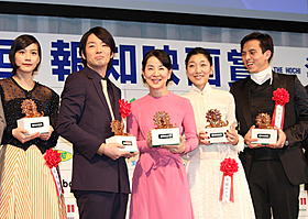「第37回報知映画賞」豪華受賞者がずらり「北のカナリアたち」