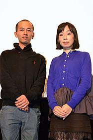 奥谷洋一郎監督と辛酸なめ子「ニッポンの、みせものやさん」